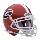 Georgia Bulldogs NCAA Mini Authentic Football Helmet From Schutt