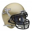 Georgia Tech Yellow Jackets NCAA Mini Authentic Football Helmet From Schutt