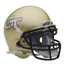 Georgia Tech Yellow Jackets NCAA Mini Authentic Football Helmet From Schutt