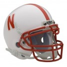 Nebraska Cornhuskers NCAA Mini Authentic Football Helmet from Schutt