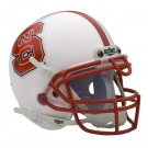 North Carolina State Wolfpack NCAA Mini Authentic Football Helmet From Schutt