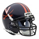 Virginia Cavaliers NCAA Mini Authentic Football Helmet From Schutt