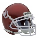 Oklahoma Sooners NCAA Mini Authentic Football Helmet From Schutt