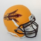 Arizona State Sun Devils NCAA Mini Authentic Football Helmet From Schutt (Gold)