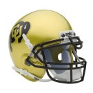 Colorado Buffaloes NCAA Mini Authentic Football Helmet From Schutt