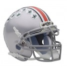 Ohio State Buckeyes NCAA Mini Authentic Football Helmet From Schutt