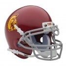 USC Trojans NCAA Mini Authentic Football Helmet From Schutt