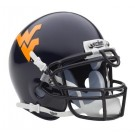 West Virginia Mountaineers NCAA Mini Authentic Football Helmet From Schutt