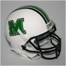 Marshall Thundering Herd NCAA Mini Authentic Football Helmet From Schutt