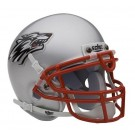 New Mexico Lobos NCAA Mini Authentic Football Helmet From Schutt