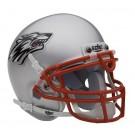 New Mexico Lobos NCAA Mini Authentic Football Helmet From Schutt
