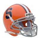 Syracuse Orangemen NCAA Mini Authentic Football Helmet from Schutt