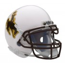 Wyoming Cowboys NCAA Mini Authentic Football Helmet From Schutt