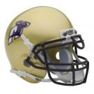 Akron Zips NCAA Mini Authentic Football Helmet From Schutt