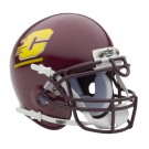 Central Michigan Chippewas NCAA Mini Authentic Football Helmet From Schutt