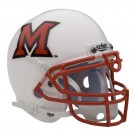 Miami (Ohio) RedHawks NCAA Mini Authentic Football Helmet From Schutt