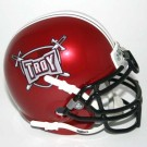 Troy State Trojans NCAA Mini Authentic Football Helmet From Schutt