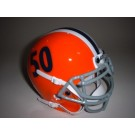Illinois Fighting Illini (1964) Mini Throwback Football Helmet from Schutt