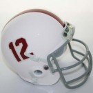 Alabama Crimson Tide (1965) Mini Throwback Football Helmet from Schutt