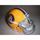 Louisiana State (LSU) Tigers 1975 Schutt Throwback Mini Helmet