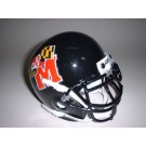 Maryland Terrapins 1997-2000 Schutt Throwback Mini Helmet
