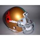 Miami Hurricanes 1967 Schutt Throwback Mini Helmet
