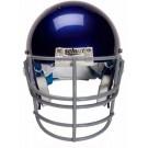 Grey Nose, Jaw and Oral Protection (NJOP) Full Cage Football Helmet Face Guard from Schutt
