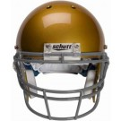 Gray Reinforced Oral Protection (ROPO) Full Cage Football Helmet Face Guard from Schutt