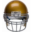 Gray Reinforced Oral Protection (ROPO-UB-DW) Football Helmet Face Guard from Schutt