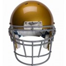 Gray Reinforced Jaw and Oral Protection (RJOP-DW) Full Cage Football Helmet Face Guard from Schutt