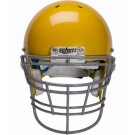 Gray Reinforced Jaw and Oral Protection (RJOP-XL-DW) Full Cage Football Helmet Face Guard from Schutt