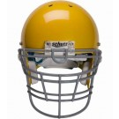 Gray Reinforced Jaw and Oral Protection (RJOP-XL-UB-DW) Full Cage Football Helmet Face Guard from Schutt