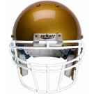 White Reinforced Oral Protection (ROPO-DW) Full Cage Football Helmet Face Guard from Schutt