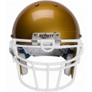 White Reinforced Oral Protection (ROPO-UB-DW) Full Cage Football Helmet Face Guard from Schutt