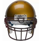 Black Reinforced Oral Protection (ROPO-UB-DW) Full Cage Football Helmet Face Guard from Schutt