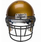 Black Reinforced Jaw and Oral Protection (RJOP-DW) Full Cage Football Helmet Face Guard from Schutt