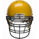 Black Reinforced Jaw and Oral Protection (RJOP-XL-DW) Full Cage Football Helmet Face Guard from Schutt