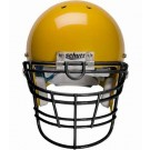 Black Reinforced Jaw and Oral Protection (RJOP-XL-UB-DW) Full Cage Football Helmet Face Guard from Schutt