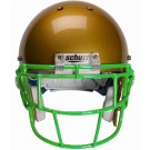 Kelly Green Eyeglass Oral Protection (EGOP) Football Helmet Face Guard from Schutt