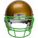 Kelly Green Reinforced Oral Protection (ROPO) Full Cage Football Helmet Face Guard from Schutt