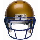 Navy Eyeglass Oral Protection (EGOP) Football Helmet Face Guard from Schutt