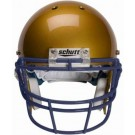 Navy Reinforced Oral Protection (ROPO) Full Cage Football Helmet Face Guard from Schutt