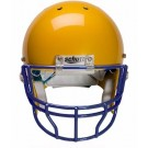 Navy Reinforced Oral Protection (OPO-XL) Full Cage Football Helmet Face Guard from Schutt