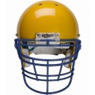 Navy Reinforced Jaw and Oral Protection (RJOP-XL-DW) Full Cage Football Helmet Face Guard from Schutt