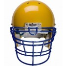 Navy Reinforced Jaw and Oral Protection (RJOP-XL-UB-DW) Full Cage Football Helmet Face Guard from Schutt