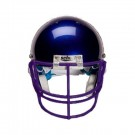 Purple Nose and Oral Protection (NOPO) Full Cage Football Helmet Face Guard from Schutt