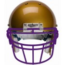 Purple Reinforced Oral Protection (ROPO-DW) Full Cage Football Helmet Face Guard from Schutt