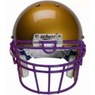 Purple Reinforced Oral Protection (ROPO-UB-DW) Full Cage Football Helmet Face Guard from Schutt