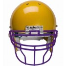 Purple Reinforced Oral Protection (ROPO-DW-XL) Full Cage Football Helmet Face Guard from Schutt