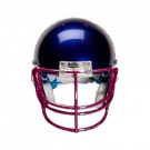 Maroon Nose and Oral Protection (NOPO) Full Cage Football Helmet Face Guard from Schutt